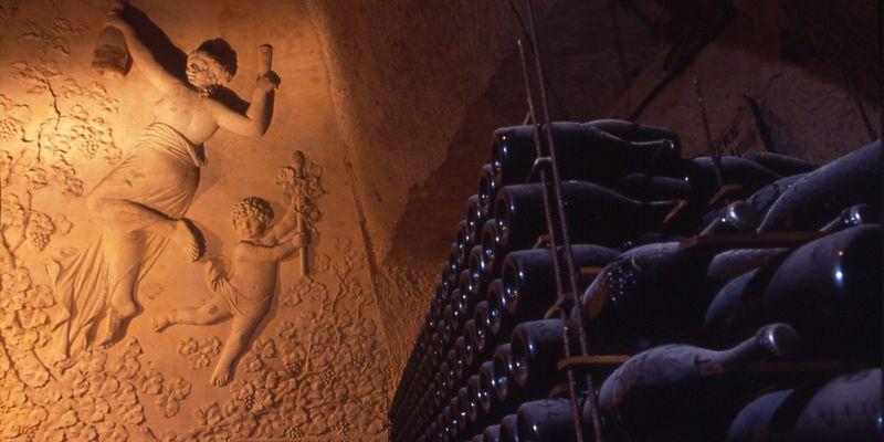 Caves Veuve Clicquot © M.Jolyot