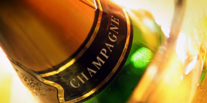 Bouteille de Champagne © Phovoir