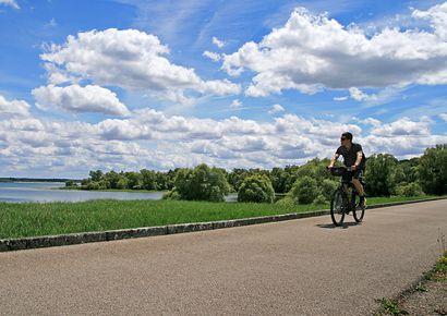 Die Radwege durch die Region Champagne-Ardenne