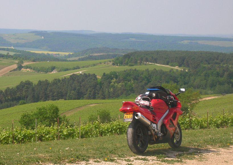 Motorradtouren in der Champagne-Ardenne