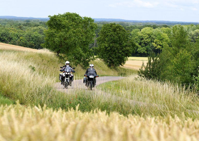 Motorradtrip : Aube und die Haute-Marne